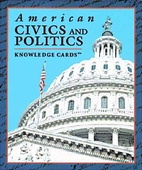 American Civics and Politics Knowledge Cards