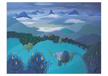 Anne Marie Graham: Glasshouse Mountains Notecard Folio