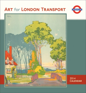 Art for London Transport 2014 Wall Calendar