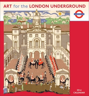 Art for the London Underground 2014 Wall Calendar