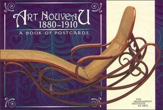 Art Nouveau 1880-1910 Book of Postcards