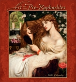 Art of the Pre-Raphaelites 2014 Wall Calendar