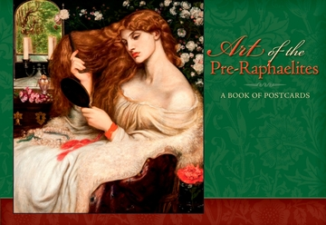 Art of the Pre-Raphaelites Book of Postcards