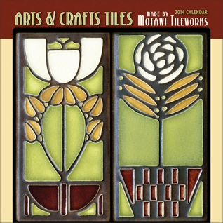 Arts & Crafts Tiles 2014 Mini Wall Calendar