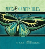 Arts & Crafts Tiles 2014 Wall Calendar