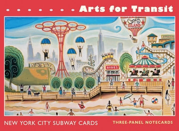 Arts for Transit: New York City Subway Cards Boxed Three-Panel Card Assortment