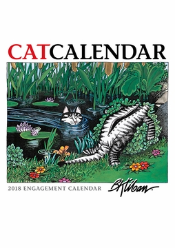 B. Kliban: CatCalendar 2018 Engagement Calendar