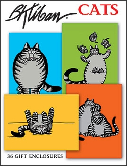 B. Kliban Cats Boxed Gift Enclosures