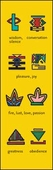 Bantu Symbols II Bookmark