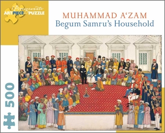 Begum Samru's Household 500-piece Jigsaw Puzzle