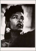 Billie Holiday Postcard