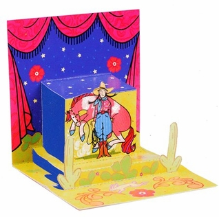 Buckaroo Venus Pop-Up Card