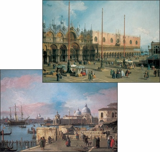 Canaletto: Venice Notecard Folio