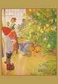 Carl Larsson: Now It Is Christmas Again Holiday Cards