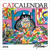 CatCalendar 2014 Mini Wall Calendar