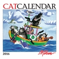 CatCalendar: B. Kliban 2016 Mini Wall Calendar