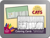 Cats: Edie Harper Coloring Cards