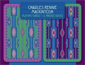 Charles Rennie Mackintosh Bridge Playing Cards