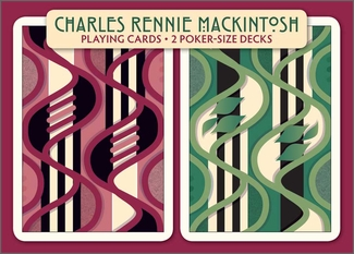 Charles Rennie Mackintosh Playing Cards