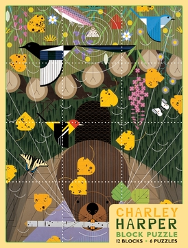 Charley Harper Block Puzzle
