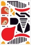 Charley Harper's Sticky Birds: An Animal Sticker Kit