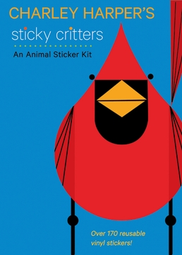 Charley Harper's Sticky Critters: An Animal Sticker Kit