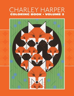 Charley Harper: Volume 2 Coloring Book