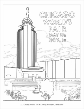 Chicago Coloring Book