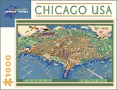 Chicago USA 1,000-piece Jigsaw Puzzle