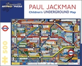Children's Underground Map 500-piece Jigsaw Puzzle