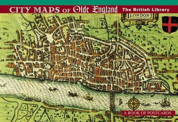 City Maps of Olde England Book of Postcards