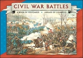 Civil War Battles Book of Postcards