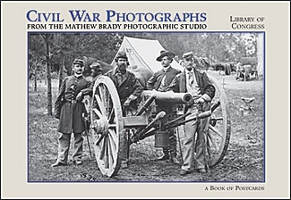 Civil War Photographs Book of Postcards