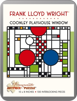 Coonley Playhouse Window 100-piece Jigsaw Puzzle