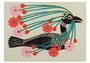 Courting Loon Birthday Card