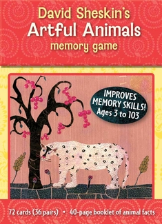 David Sheskin's Artful Animals Memory Game