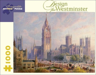 Design for Westminster 1,000-piece Jigsaw Puzzle