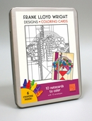 Designs: Frank Lloyd Wright Coloring Cards