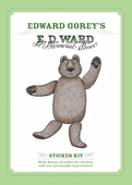 E. D. Ward, A Mercurial Bear: Edward Gorey Sticker Kit