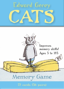 Edward Gorey's Cats Memory Game