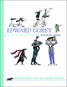 Edward Gorey Sticker Book