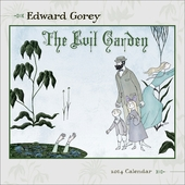 Edward Gorey: The Evil Garden 2014 Mini Wall Calendar