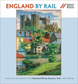 England by Rail 2014 Wall Calendar