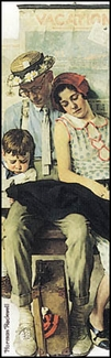 Family Home from Vacation Bookmark