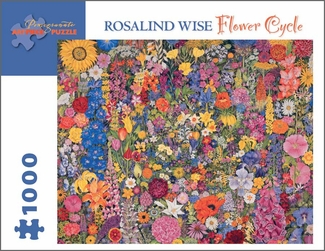Flower Cycle 1,000-piece Jigsaw Puzzle