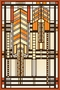 Frank Lloyd Wright Dana House Adaptation Magnet