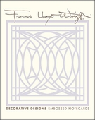 Frank Lloyd Wright Decorative Designs Embossed Boxed Notecards