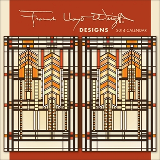 Frank Lloyd Wright: Designs 2014 Mini Wall Calendar