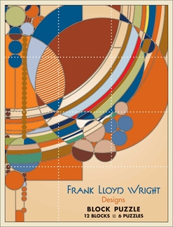 Frank Lloyd Wright Designs Block Puzzle