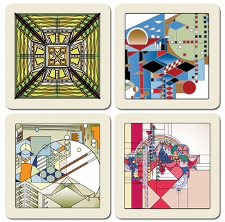 Frank Lloyd Wright Designs Memory Game